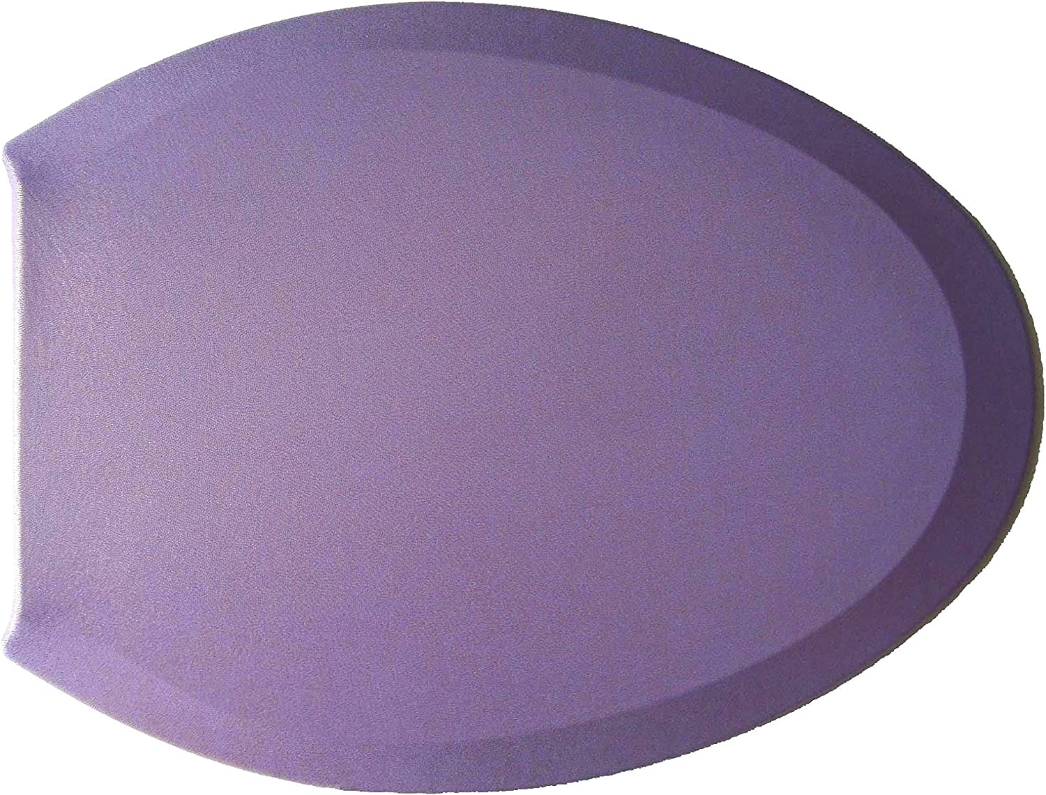 Lavender Purple Handmade in USA Special Matte Edition of Fabric Cover for a lid Toilet SEAT for Round /& Elongated Models