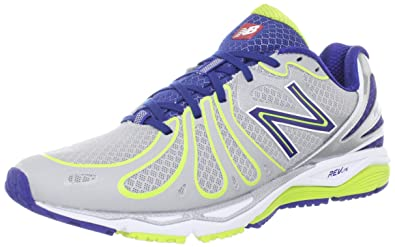 size 40 7ada3 6d0ad New Balance Men s M890v3 Running Shoe,Silver Navy,13 ...