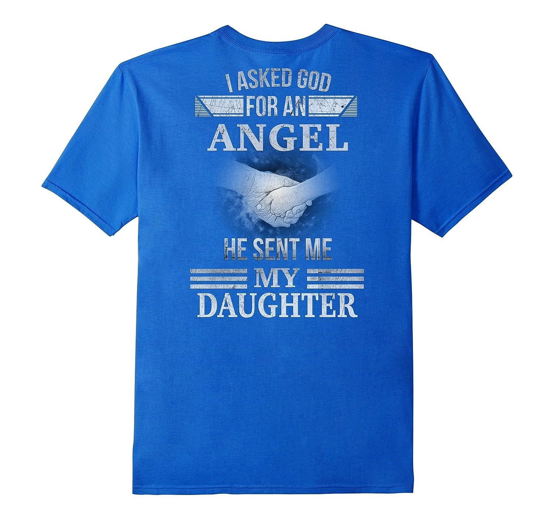 KA God Gave Me My Daughter Shirt for Dad or Fathers-RT
