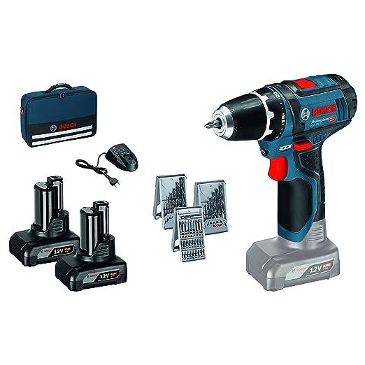 Bosch 0615990hv1 Gsr 12v 15 2x 4 0ah In Tasche 48 W 12 V