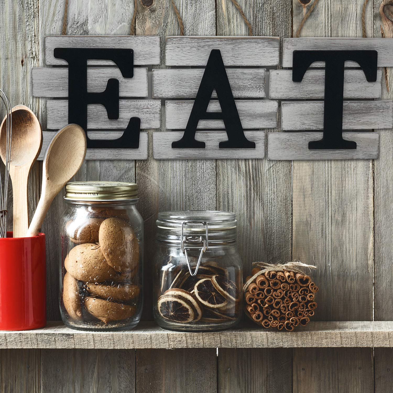 EAT Decorative Wall Art Sign