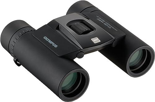 OLYMPUS 10X25WP II BLK Waterproof Binoculars Roof Prism Compact Binocular