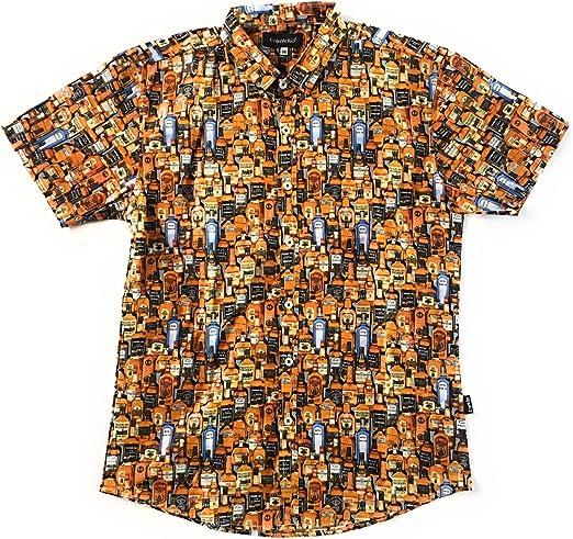 TRANKILO Camisa Licores Naranja. (XL): Amazon.es: Ropa y accesorios