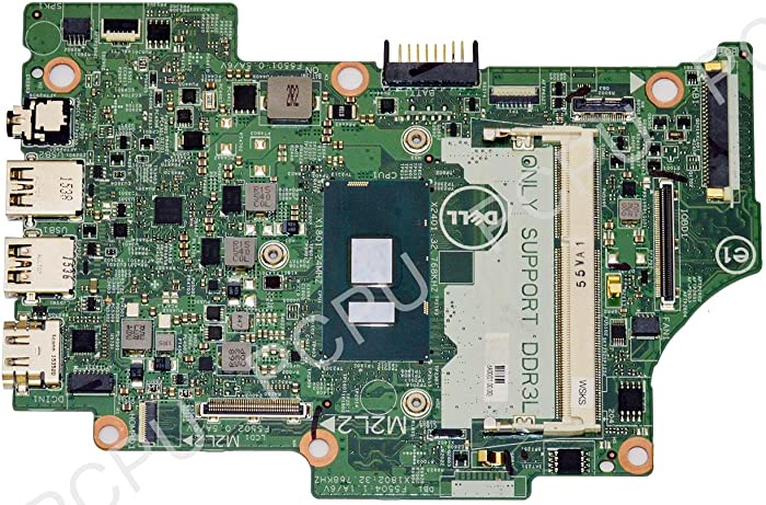 Dell Inspiron 13 7359 Laptop Motherboard w/ I5-6200U 2.3GHz CPU 9GH9H 09GH9H
