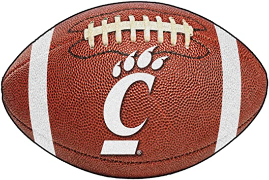 FANMATS NCAA University of Cincinnati Bearcats Nylon Face Ultimat Rug