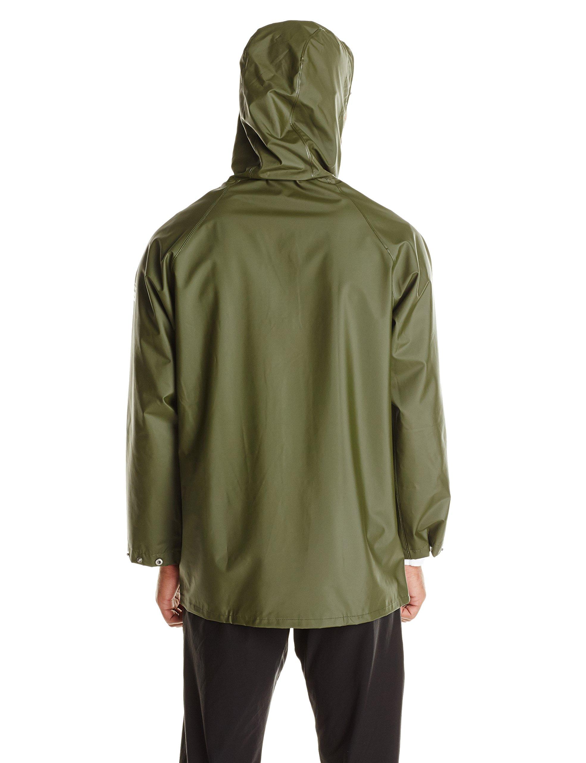 Helly Hansen Workwear Men's Mandal Rain Jacket, Army Green, 4X-Large by Helly Hansen (Image #2)