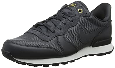 new product 25298 da2f3 Nike Womens W Internationalist PRM Trainers, Black (AnthraciteSummit  WhiteBlack