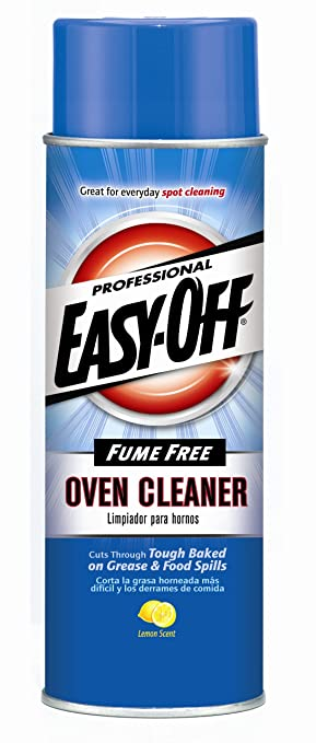 5. Easy-Off Professional Fume Free Max Oven Cleaner