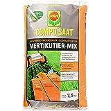 COMPO SAAT Vertikutier-Mix, Rasensamen, Rasendünger und Bodenaktivator, 7,5 kg, 250 m²