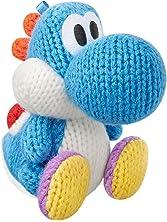 Light Blue Yarn Yoshi Amiibo (Yoshi's Woolly World Series)