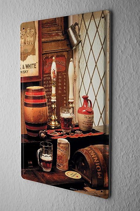 Amazon.com: Tin Sign Bar Party Wall Decoration Pub Beer Keg Metal ...