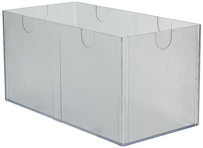 Amazon.com: Deflecto organizador de cubos apilables ...