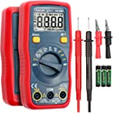 AstroAI Digital Multimeter, Voltmeter 1.5v/9v/12v Battery Voltage Tester Auto-Ranging/Ohmmeter/DMM with Non-Contact Voltage F