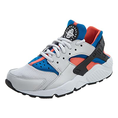 Nike Women's Air Huarache Run Vast Grey/Black/Rush Coral Running Shoe | Road Running