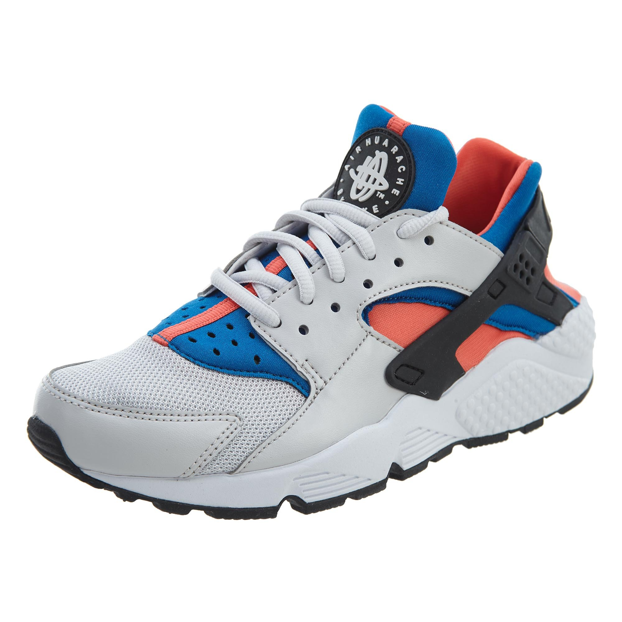 89193cf38c78 Galleon - Nike Women s Air Huarache Run Vast Grey Black Rush Coral Running  Shoe 7 Women US