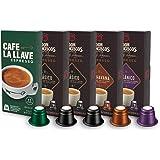 Don Francisco's & Café La Llave Espresso Capsules Variety Pack , 50 Count