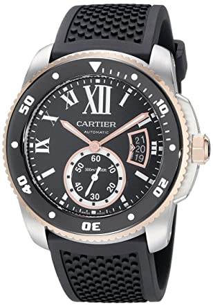where is the serial number on a cartier watch