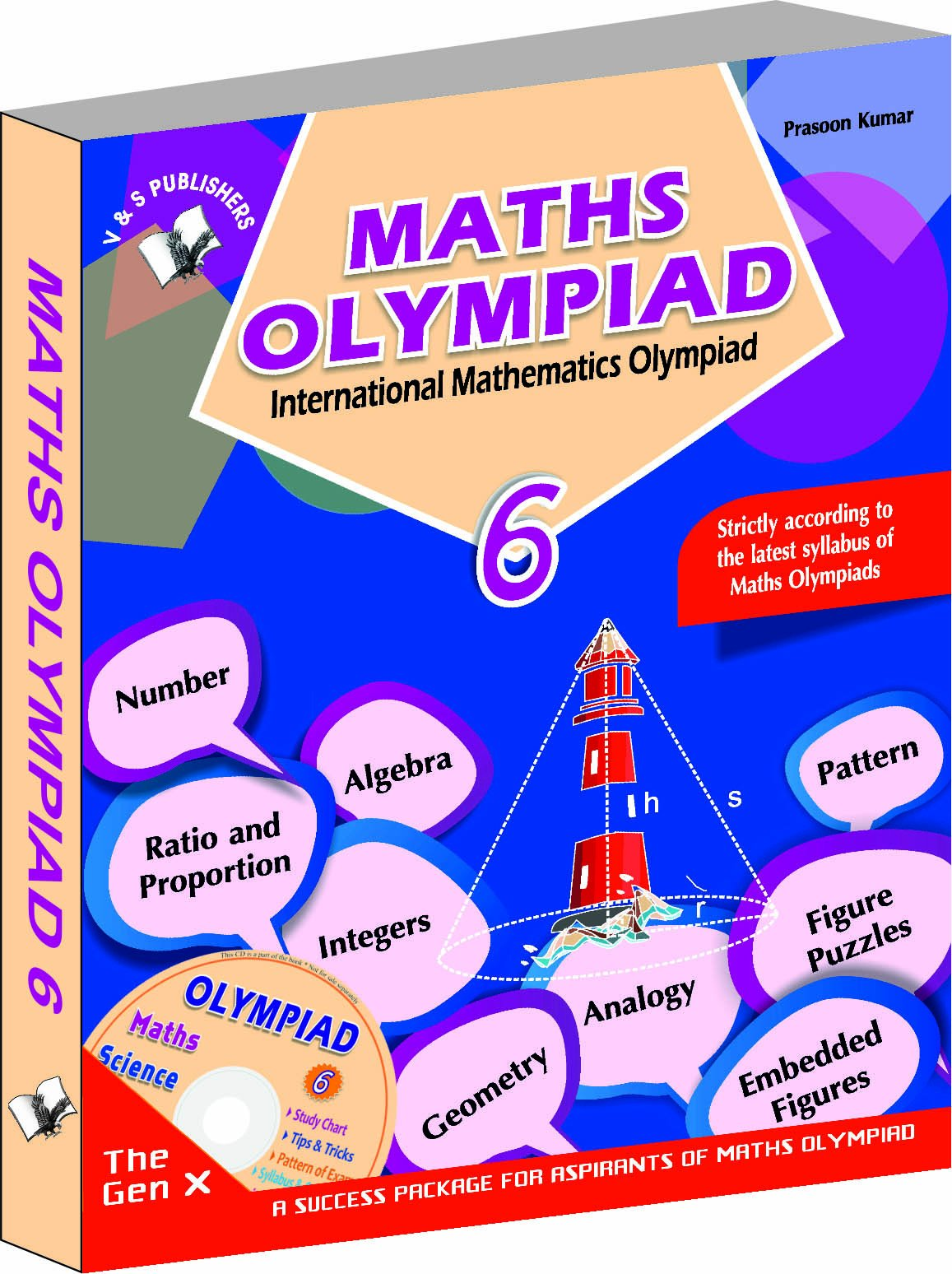 Buy International Maths Olympiad - Class 6 with CD: Theories
