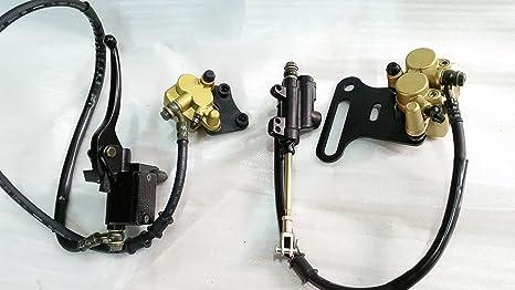 Orange Imports CBS11 Frenos delanteros y traseros para Dirt Pit Bike