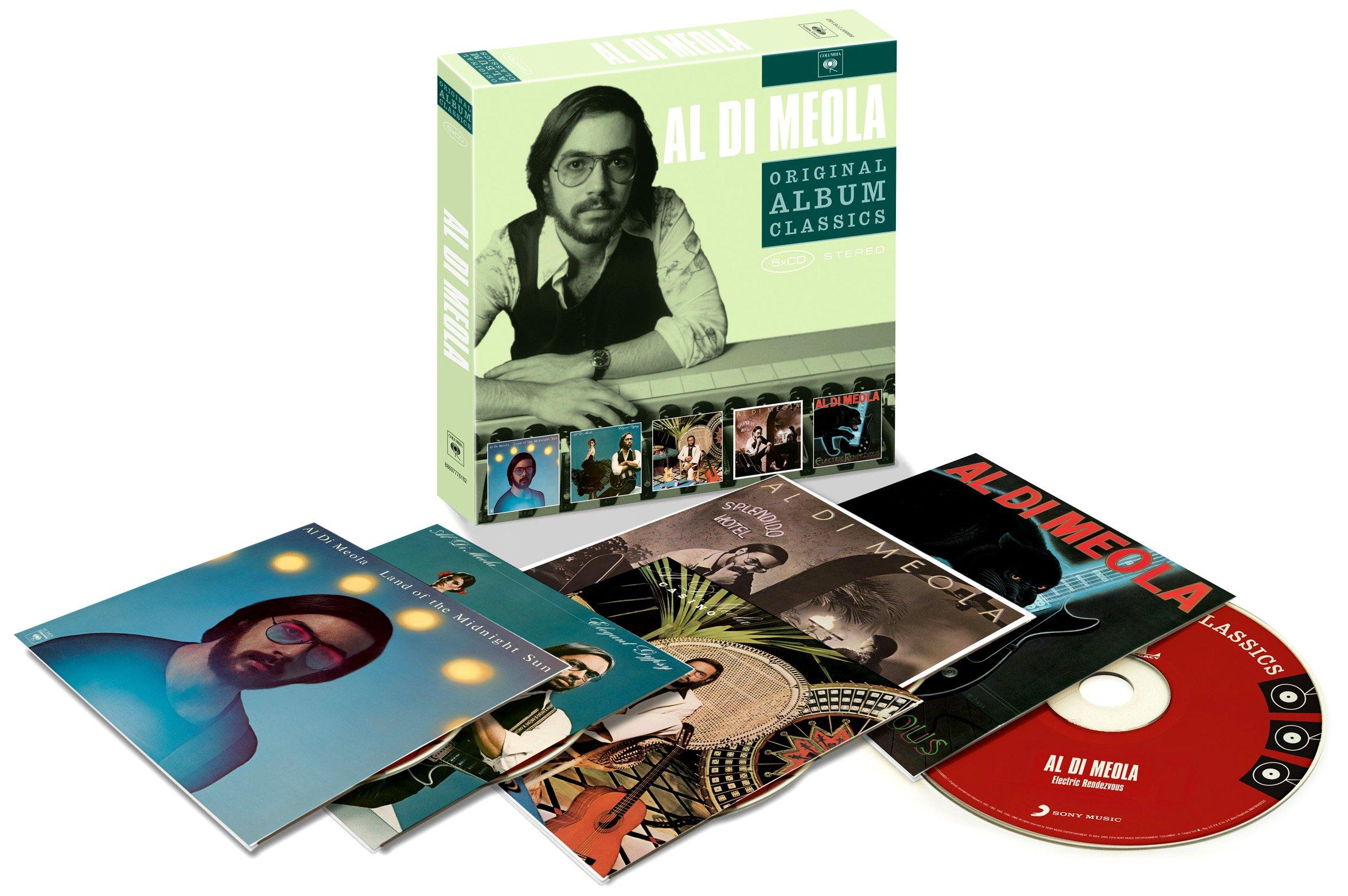 5cd Original Album Classics (Land Of The Midnight Sun/Elegant Gypsy/Casi No/Splendido Hotel/Electric Rendezvo Us) by SONY MUSIC ENTERTAIN