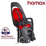 Amazon Price History for:Hamax Caress Child Bike Seat, Ultra-Shock Absorbing Frame or Rack Rear Mount, Adjustable to Fit Baby Through Toddler 9 mo - 48.5 lb. 35-Year Award Winning European Brand.