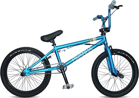 Piranha P5 - Bicicleta Infantil BMX para niño, para Todas Las Medidas a Partir de 135 cm, Color (Matt Teal): Amazon.es: Deportes y aire libre