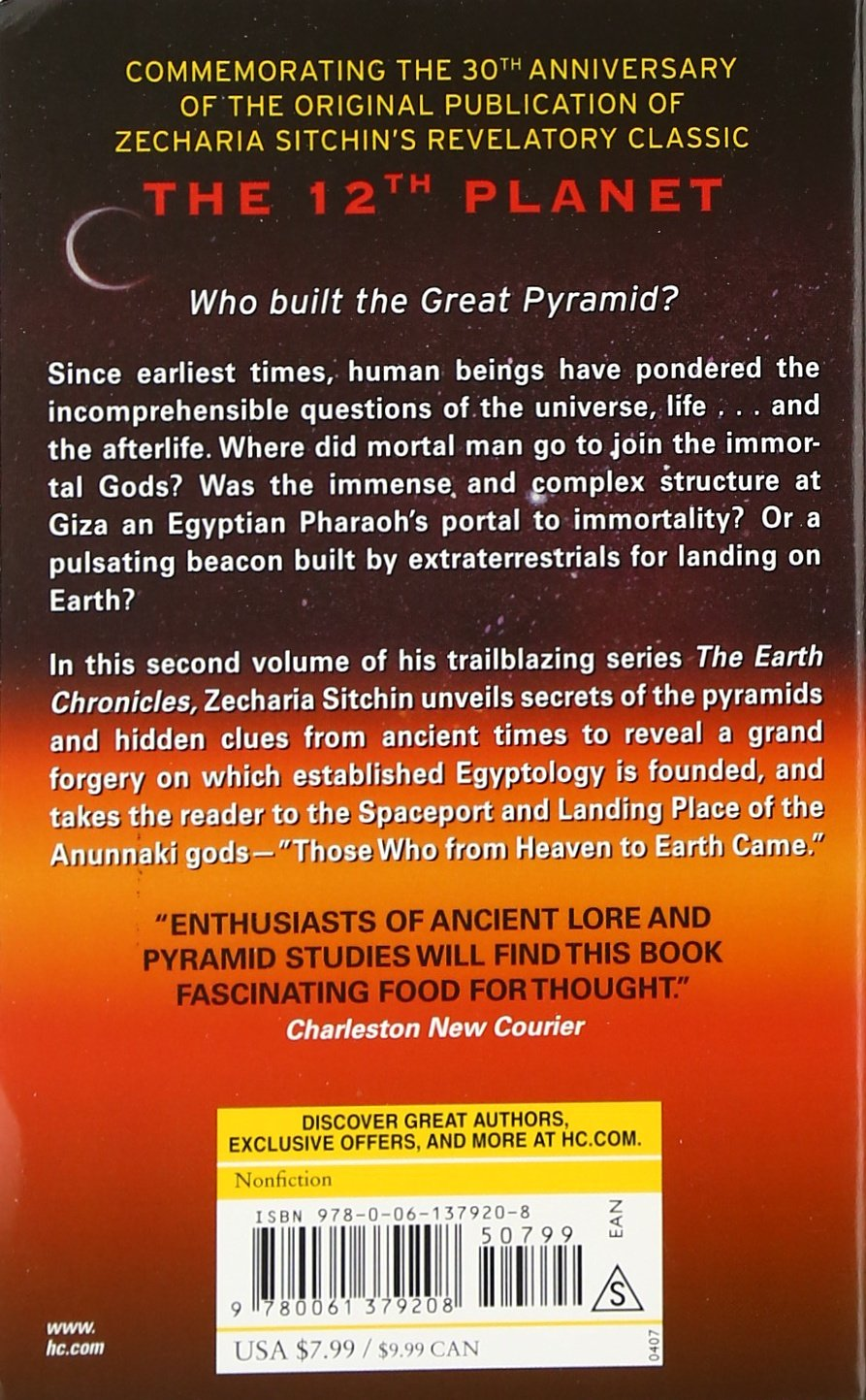 The Stairway To Heaven: Book Ii Of The Earth Chronicles (the Earth  Chronicles): Zecharia Sitchin: 9780061379208: Amazon: Books