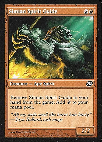 Magic: the Gathering - Simian Spirit Guide - Planar Chaos by ...