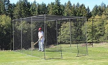 FS5 casa terreno - jaula de bateo para práctica, Cricket, 5 m x 3 ...
