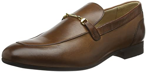 HUDSON SOFT Navarre Calf - Mocasines Hombre, Marrón, 41 UE: Amazon.es: Zapatos y complementos