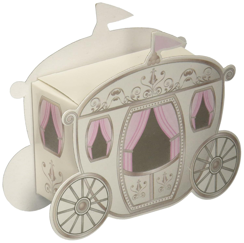 Amazon.com: Kate Aspen 28054NA Enchanted Carriage Favor Boxes ...