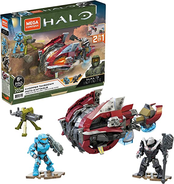 Mega Construx Halo Chopper Takedown