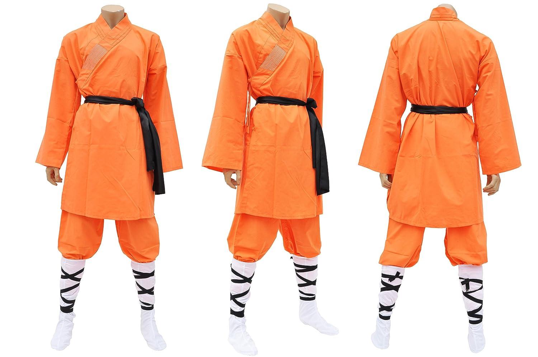 Shaolin di tenuta, in cotone, colore: arancione ShenLong