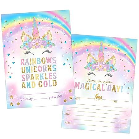 Your Main Event Prints Invitación de cumpleaños con diseño ...