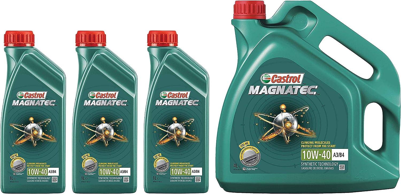 Castrol Magnatec 10w 40 A3 B4 Teilsynthetisches Motorenöl 7 Liter Auto