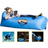 Cloud Nine Portable Inflatable Air Lounger with Carry Bag - Waterproof Inflatable Air Sofa for the Garden, Beach, Camping etc.