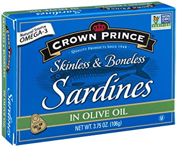 Crown Prince Skinless & Boneless Canned Sardine