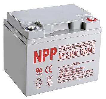 Amazon.com: NPP 12 V 40 Amp EV12 40 Ah eBike – Patinete ...