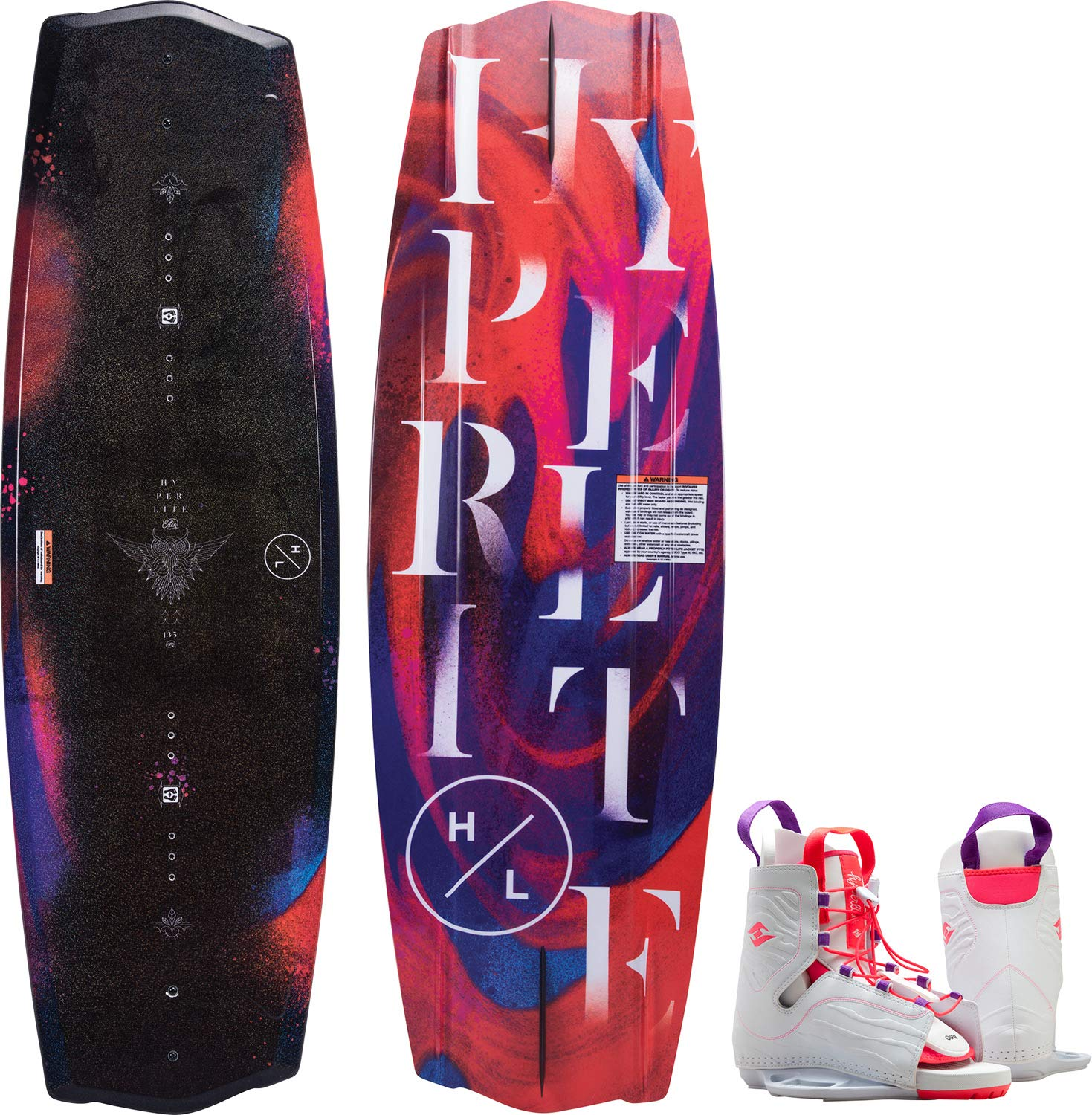 Hyperlite Eden Wakeboard 130cm with Allure Boot OSFA by Hyperlite