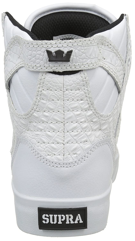 Supra Sneaker Women's Skytop Sneaker Supra B00R8NHQJK 5 B(M) US|White/Croc/White 8e6421