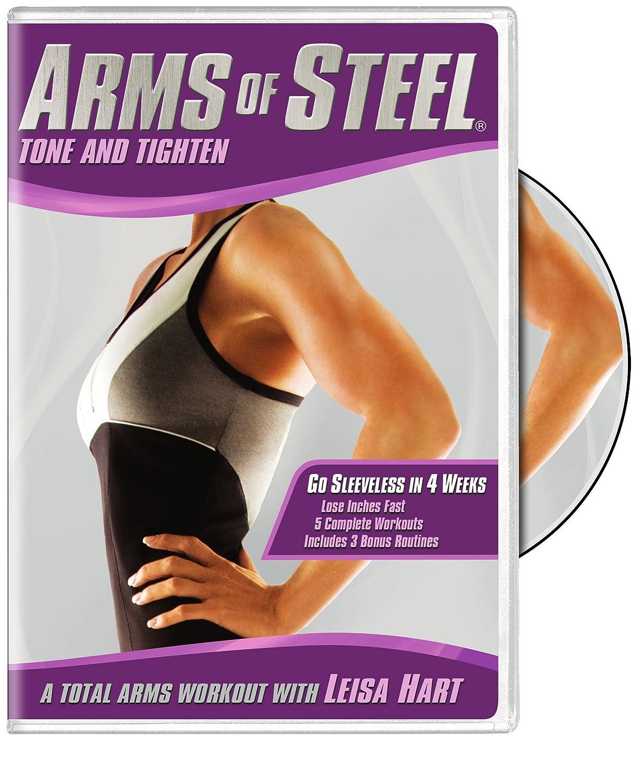 Arms of Steel: Tone and Tighten Leisa Hart Warner Bros. Home Video 1000045487 Fitness/Self-Help