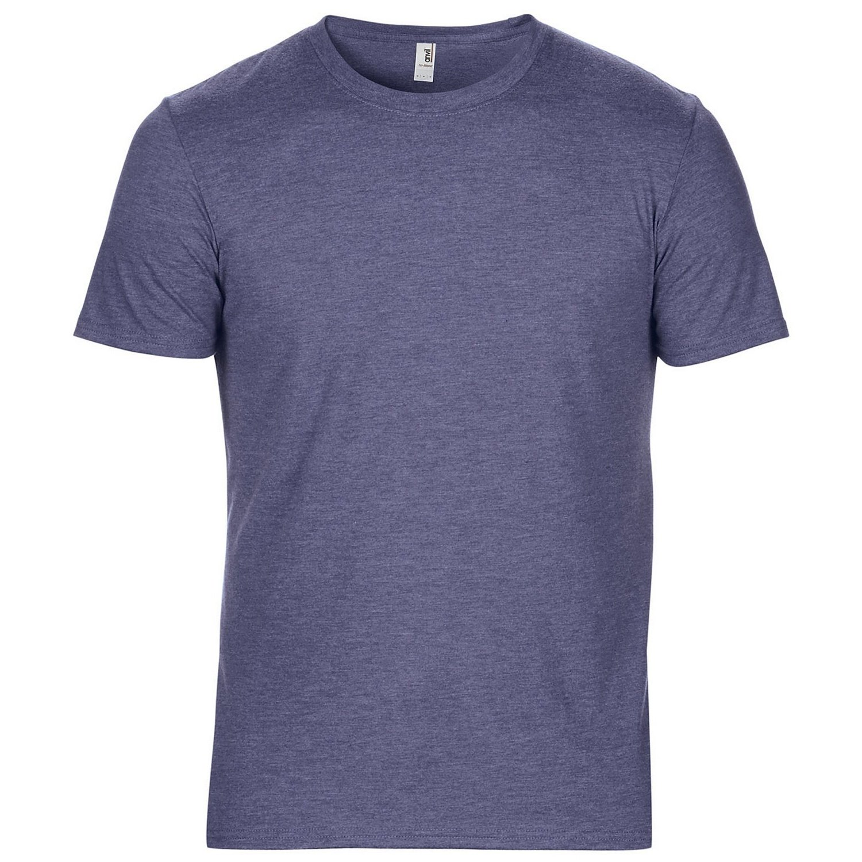 Anvil Herren Tri-Blend T-Shirt mit Rundhalsausschnitt, Kurzarm: Amazon.de:  Bekleidung