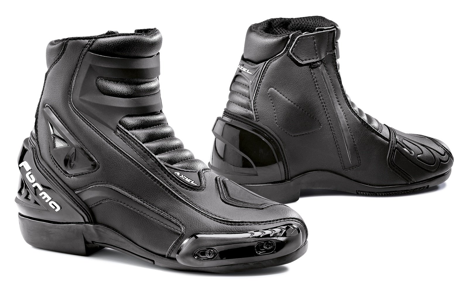 Forma Axel Street Motorcycle Boots (Black, Size 11 US/Size 45 Euro)