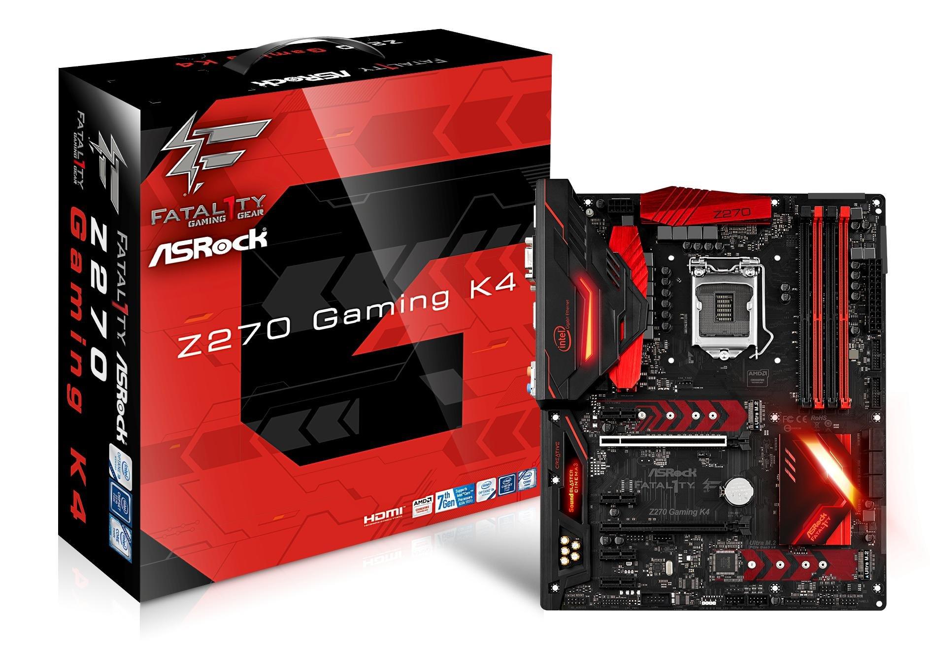 ASRock Motherboard Motherboards Z270 Gaming K4 by ASRock