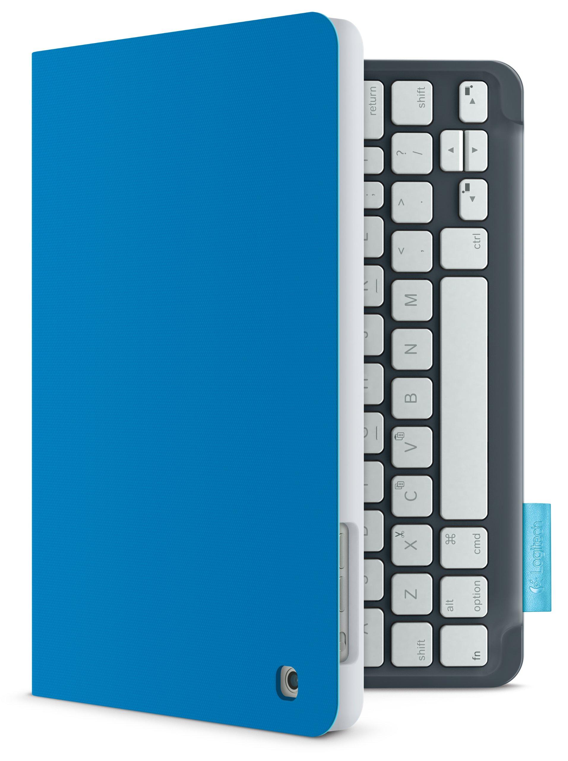 Logitech Keyboard Folio for iPad mini - Electric Blue by Logitech