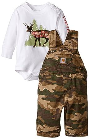 Carhartt bebé niños de caza General Set - negro -: Amazon.es: Ropa y accesorios