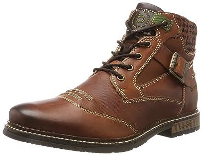 Mens 321344523259 Classic Boots, Brown Bugatti