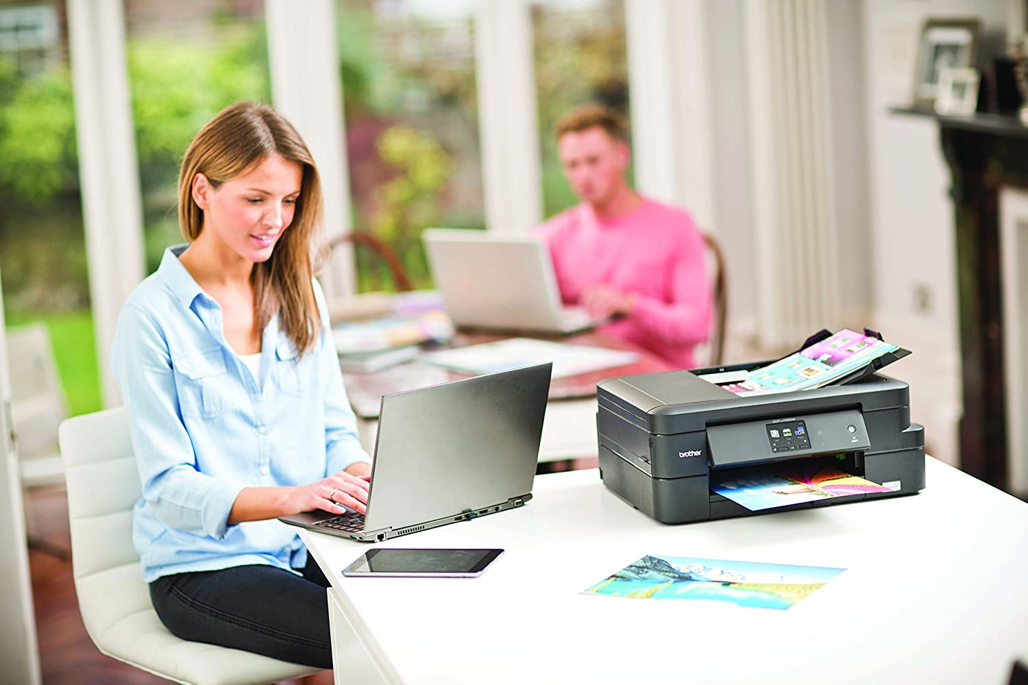 Scan /& 2 Sided Printing A4 Brother DCP-J774DW Colour Inkjet Printer Copy Wireless /& PC Connected Print
