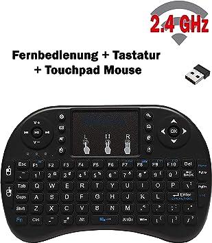 Medialink Magic Pad100 - Mini Teclado inalámbrico para Dispositivos IPTV (RCU, Teclado táctil y Teclado): Amazon.es: Electrónica