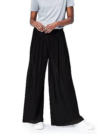FIND Damen Hose mit weitem Bein Schwarz (Black), 36 (Herstellergröße   Small)  Amazon.de  Bekleidung 83d6fdb614